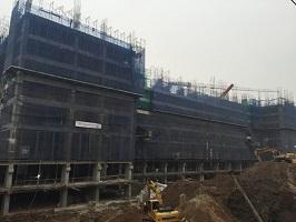 Cập nhật tiến độ các công trình nhà ở thấp tầng, cao tầng và trường học tại Imperia Garden- Ngày 29.03.2016