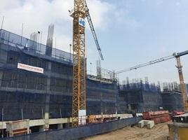 Các công trình được đẩy nhanh tiến độ thi công tại dự án Imperia Garden – ngày 08.01.2016